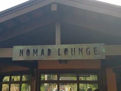 Nomad Lounge  (Disney World)