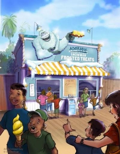 Adorable Snowman's Frosted Treats (Disney California Adventure)