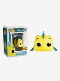 Funko Disney Diamond Collection The Little Mermaid Pop! Flounder Vinyl Figure