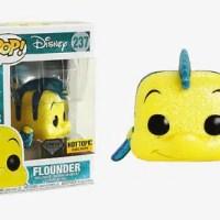 Little Mermaid Flounder Vinyl Figure – Funko Disney Diamond Collection