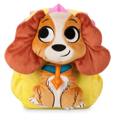 Lady Plush Backpack for Girls – Disney Furrytale Friends