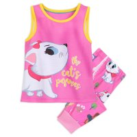 Marie Sleep Set for Girls - Disney Furrytale Friends