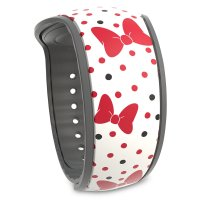 Minnie Mouse Bow and Polka Dot MagicBand 2
