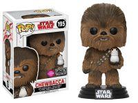 Star Wars The Last Jedi Chewbacca with Porg Funko Pop Figure