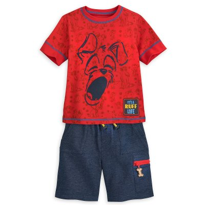 Tramp T-Shirt and Shorts Set for Boys – Disney Furrytale Friends