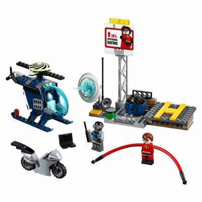 Elastigirl's Rooftop Pursuit Playset – Incredibles 2 LEGO