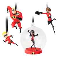 Incredibles 2 Christmas Ornament Set