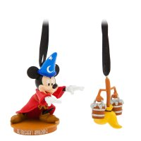 Mickey Mouse The Sorcerer's Apprentice Christmas Ornament Set