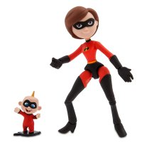 Mrs. Incredible and Jack-Jack Action Figures | Incredibles 2 Toys