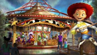 Jessie's Critter Carousel (Disney California Adventure)