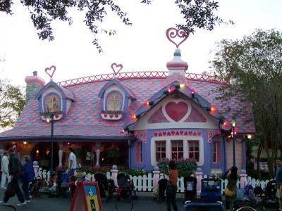 Minnie's House– Extinct Disney World Attraction