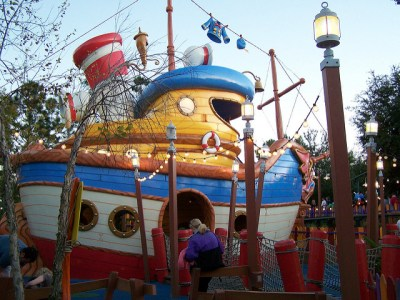 Donald's Boat – Extinct Disney World Attraction