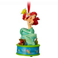 Ariel Singing Sketchbook Christmas Ornament