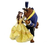 Beauty and the Beast Christmas Ornament