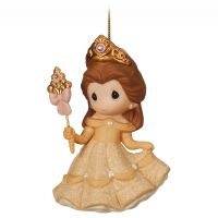 Belle Figurine Christmas Ornament by Precious Moments
