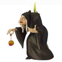 Evil Queen as Hag Sketchbook Christmas Ornament