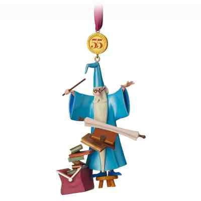 Merlin Legacy Sketchbook Christmas Ornament