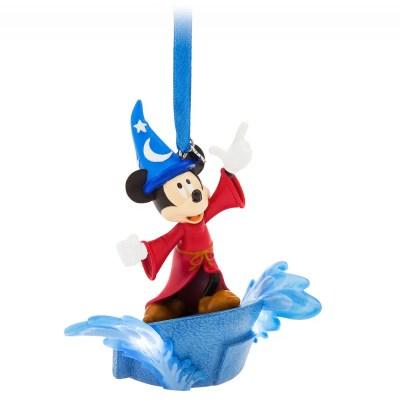 Sorcerer Mickey Mouse Sketchbook Christmas Ornament