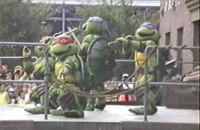 Teenage Mutant Ninja Turtles – Extinct Disney World Show