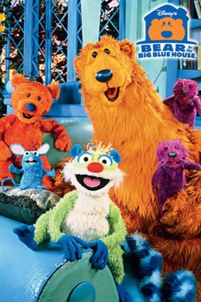 Bear in the Big Blue House(Playhouse Disney Show)