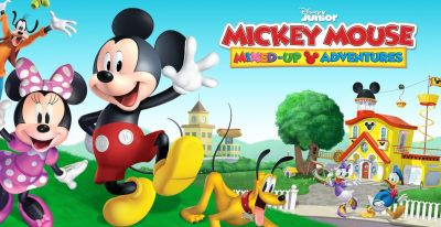 Mickey Mouse Mixed-Up Adventure (Disney Junior)