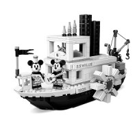Steamboat Willie LEGO Disney Set