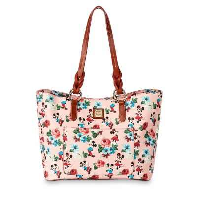 Mickey and Minnie Mouse Floral Tote by Dooney & Bourke