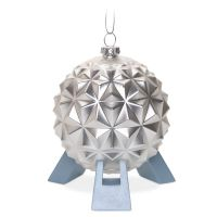 Spaceship Earth Glass Ornament | Disney Christmas
