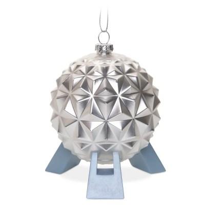Spaceship Earth Glass Ornament | Disney Christmas