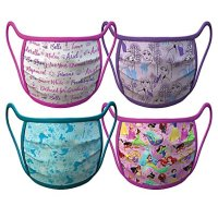 Disney Princess Face Masks 4-Pack | Disney Face Masks