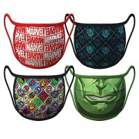 Marvel Face Masks 4-Pack | Disney Face Masks