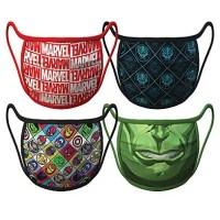Marvel Face Masks 4-Pack | Disney Face Masks