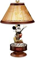 Mickey Mouse Lamp by The Bradford Exchange