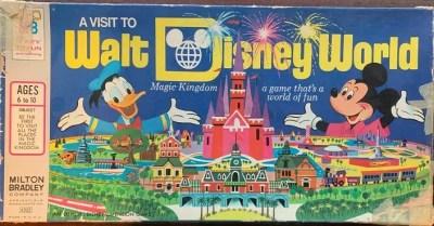 A Visit to Walt Disney World Board Game – 1972