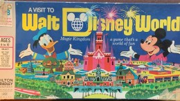 A Visit to Walt Disney World Board Game - 1972