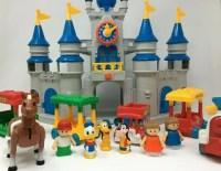 Disney Magic Kingdom Li'l Playmates Play Set - 1987
