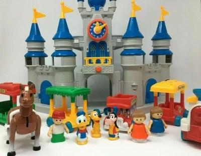 Disney Magic Kingdom Li'l Playmates Play Set – 1987