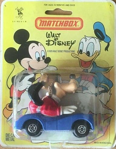 Goofy Disney Matchbox Diecast Car – 1979
