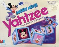 Mickey Mouse Yahtzee Game - 1988