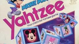 Mickey Mouse Yahtzee Game - 1988