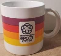 Vintage Epcot Coffee Mug - 1982