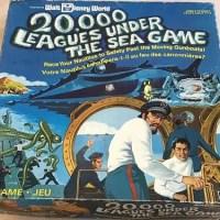 Walt Disney World 20,000 Leagues Under the Sea Board Game - 1975