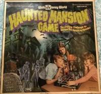 Walt Disney World Haunted Mansion Board Game - 1975