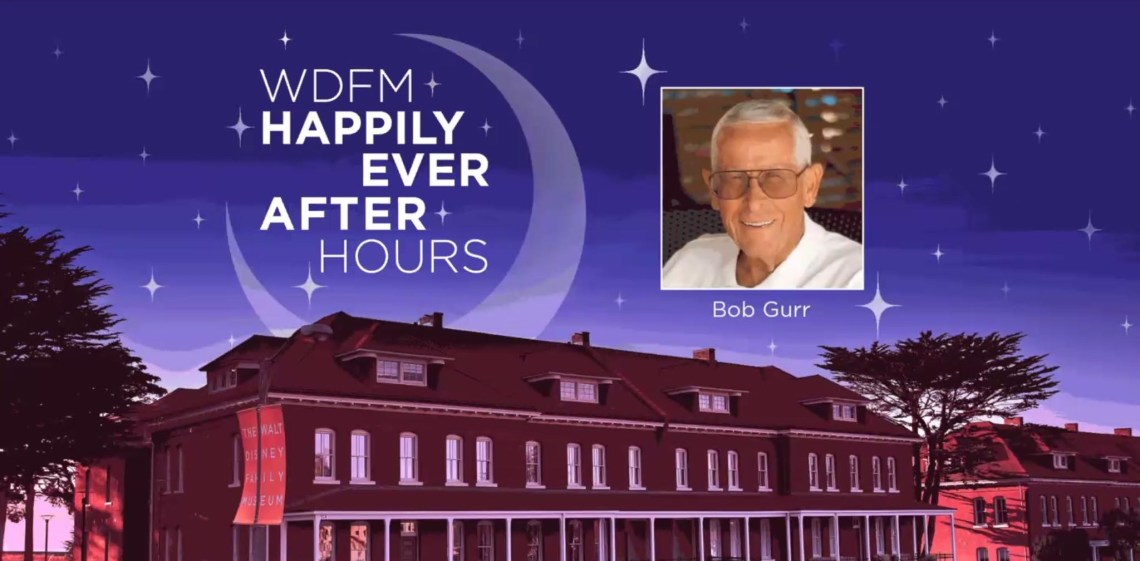 Walt Disney Family Museum Happily Ever After Hours with Bob Gurr
