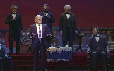Hall of Presidents closed to add Joe Biden