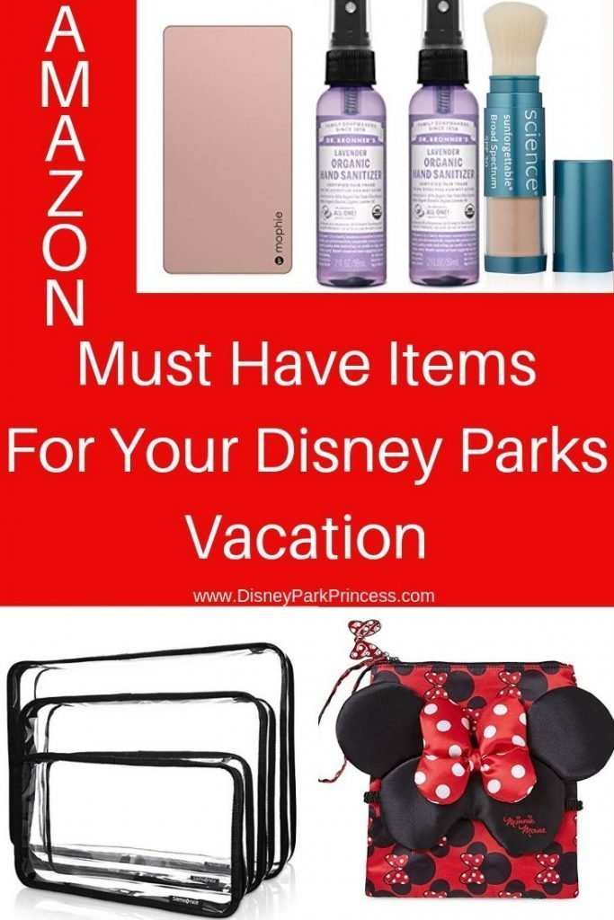 Amazon Must Have Items for your Disney Parks Vacation