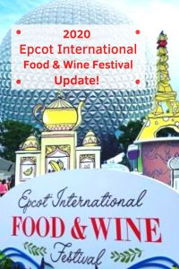 The Epcot Food & Wine Festival begins July 15, 2020, when Epcot reopens! It will look a little different this year. Learn what you need to know to plan your visit! #epcotfoodandwinefestival #waltdisneyworld #epcot #disneyplanning #disneytips