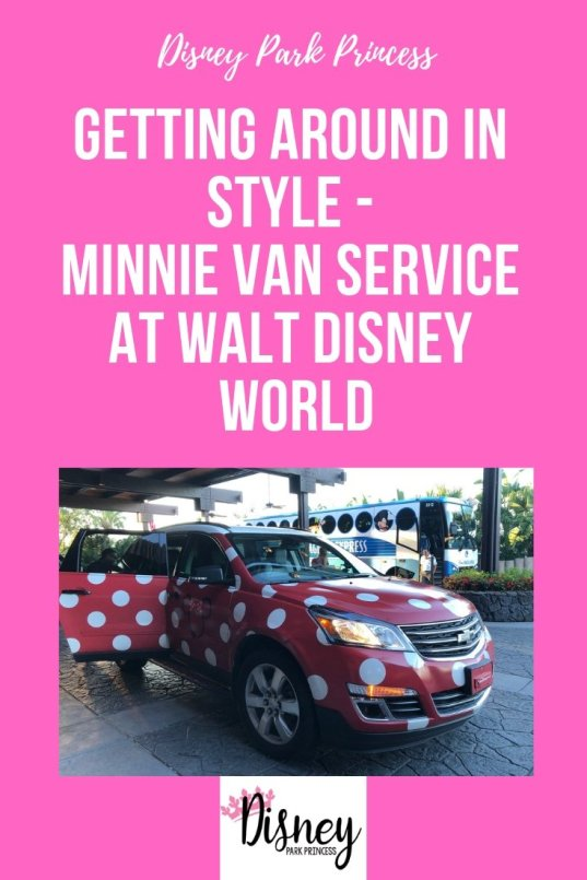Minnie Van Service at Walt Disney World