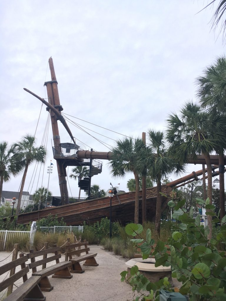 Pirate Slide Stormalong Bay Beach Club Pool