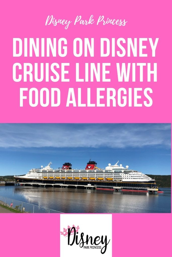 Dining on Disney Cruise Line with Food Allergies